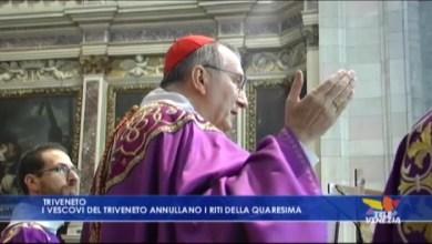 Coronavirus: vescovi del Triveneto annullano i riti della Quaresima