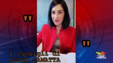 I consigli di Luisa Camatta per una quarantena più gioiosa