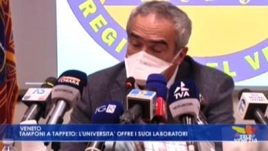 VIDEO: Tamponi a tappeto: l'università di Padova offre i suoi laboratori - Televenezia