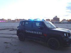 Coronavirus: uomo in spiaggia a Sottomarina, multato dai Carabinieri