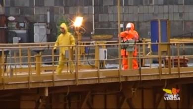 VIDEO: Fincantieri: lavoratori in sciopero. Chiesto lo stop fino al 23 marzo - Televenezia