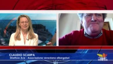 VIDEO: Claudio Scarpa: situazione degli albergatori Veneziani dopo il coronavirus - Televenezia