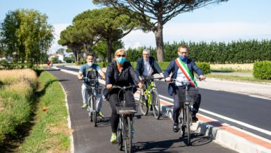 Photo of Jesolo, aperta la pista ciclabile lungo Via Martin Luther King