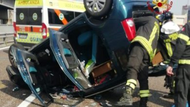Photo of Mestre, incidente tra un camion ed un'auto: 2 feriti
