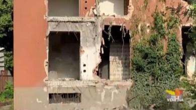 Vaschette: a Marghera la demolizione dell'ultima palazzina