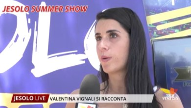 Photo of Valentina Vignali ospite di Jesolo Summer Show: l'intervista