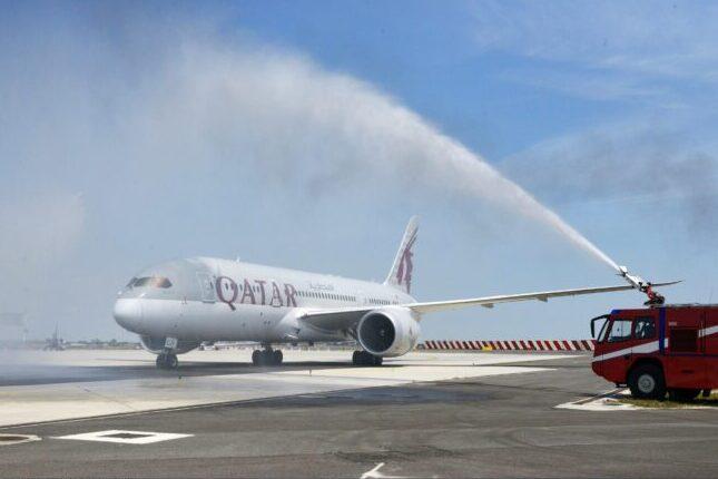 Qatar Airways: decollato il primo volo a Venezia dopo il Covid