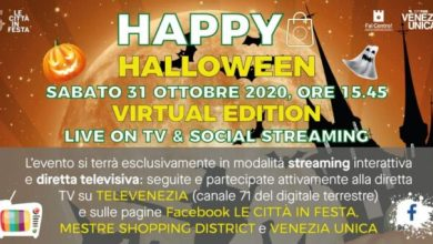 Photo of Halloween: 2 eventi virtuali animano la festa a Venezia e Mestre