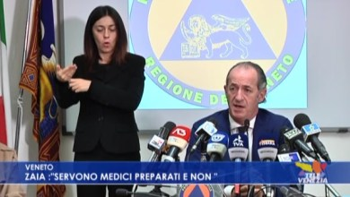 "Photo of Luca Zaia: ""mancano medici preparati e non"""