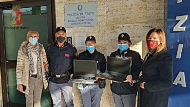 Polizia Ferroviaria: restituiti 4 computer rubati ad una scuola di Spinea - Televenezia