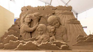 Sculture di sabbia per affermare e diffondere l'immaginario di Jesolo nelle più importanti città d'Europa e in accordo con i musei