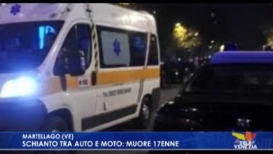 VIDEO: Scontro auto-moto: morto un diciassettenne - Televenezia