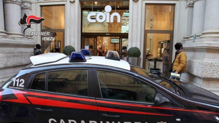 Rapina da Coin aggredendo la sicurezza: arrestato 27enne - Televenezia