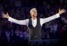Claudio Baglioni torna sul palco, in streaming