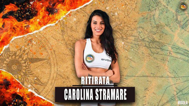 Carolina Stramare: mi ritiro dall'Isola, ecco i motivi