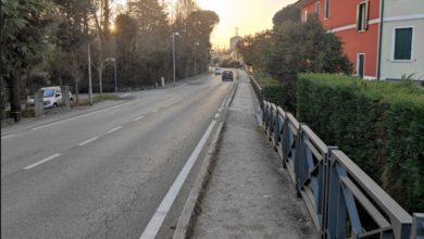 Marano di Mira: il ripristino del marciapiede in Via Caltana - Televenezia