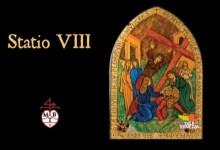 Via Crucis in vetro di Murano: l'ottava stazione