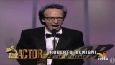 VIDEO: Roberto Benigni - Leone d'oro alla carriera - Televenezia