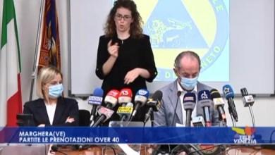 VIDEO: Vaccini, partite le prenotazioni over 40: parla Luca Zaia - Televenezia