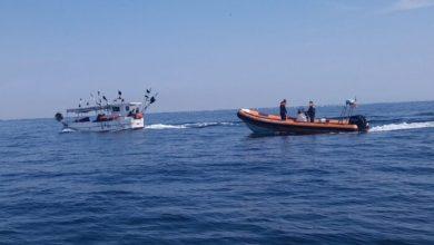 Bibione: la guardia costiera ferma peschereccio estero - TeleVenezia