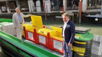 De Martin: raccolta dei rifiuti urbani pericolosi a Venezia