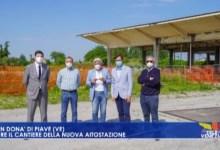 Nuovo terminal dei bus Atvo: aperto il cantiere a San Donà