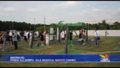 Mestre, fitness all'aperto alla Bissuola: nuovo centro outdoor