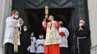 Ultima tappa per la reliquia di Sant'Antonio