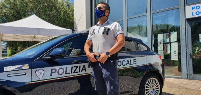 Bibione, maggiore sicurezza: gli agenti usano le body-cam