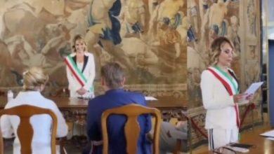 Barbara D'Urso celebra il matrimonio di due suoi amici