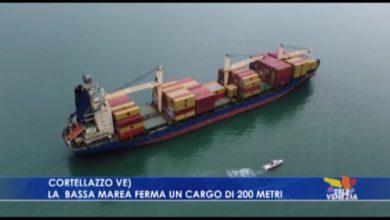Nave portacontainer disincagliata dalla Guardia Costiera a Cortellazzo