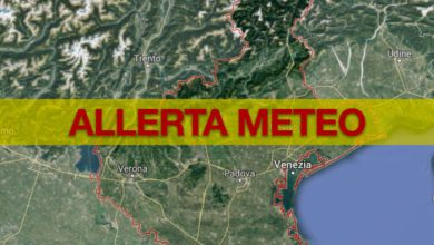 Allerta meteo Veneto: attesi temporali di forte intensità - TeleVenezia