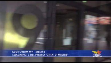 Auditorium M9: i 3 finalisti del premio letterario città di Mestre