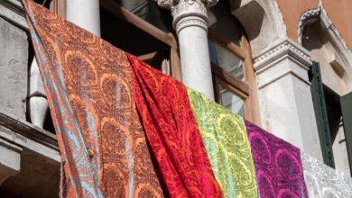 San Polo: il nuovo damasco di casa Rubelliper i 1600 anni di Venezia - TeleVenezia