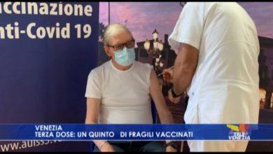 Terza dose: un quinto dei fragili vaccinati