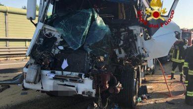 Autostrada A4: tamponamento tra tir, grave un camionista - TeleVenezia