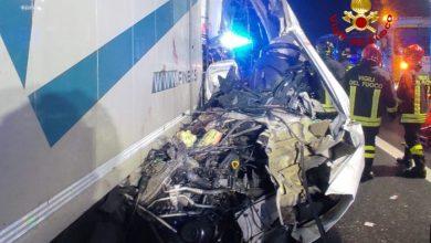 A4, tamponamento tra furgone e mezzo pesante: morta una donna - Televenezia