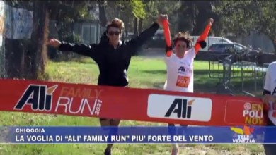 Alì Family Run 2021: grande festa a Chioggia