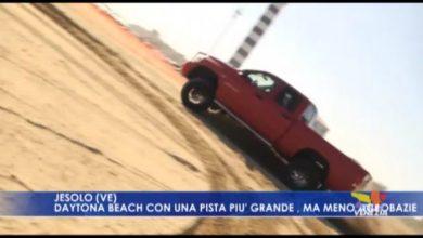 Jesolo: Daytona Beach con una pista più grande, ma meno acrobazie - TeleVenezia