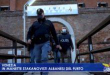 In manette stachanovisti albanesi del furto