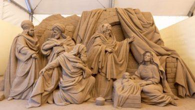 Jesolo Sand Nativity 2021: l'avvio alla 19° edizione - TeleVenezia