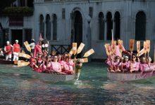 Donne in Rosa: oltre 50 le partecipanti al corteo dragon boat - TeleVenezia