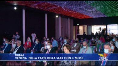 VIDEO: Expo Dubai 2021: Venezia nella parte della star con il Mose - TeleVenezia