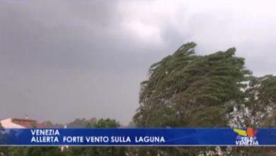 Forte vento sulla Laguna di Venezia: è allerta meteo