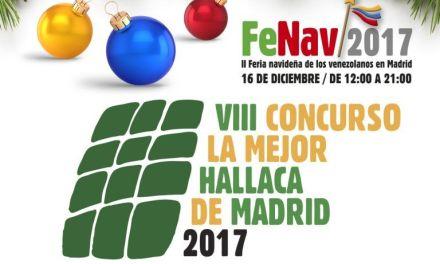 Concurso: Mejor Hallaca de Madrid 2017