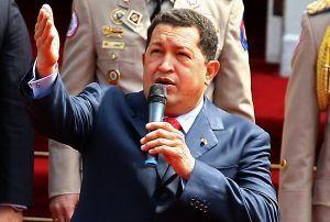 チャベス大統領写真