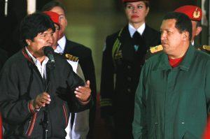 モラレス、チャベス両大統領