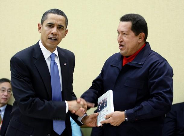 チャベスとオバマ1