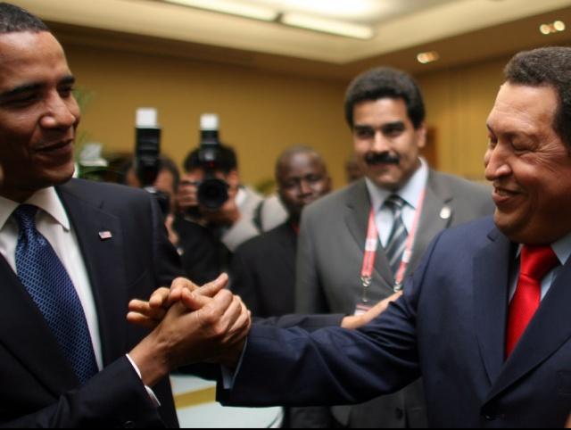 チャベスとオバマ4