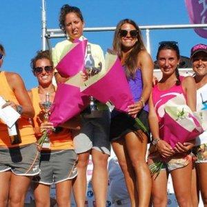 Patricia Díaz fue la número 1 en Beach Tennis de Royan-Francia